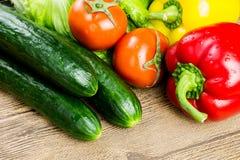 Alimento sano en el vector Foto de archivo libre de regalías