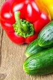 Alimento sano en el vector Imagen de archivo