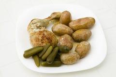 Alimento sano fresco en la placa Fotografía de archivo libre de regalías