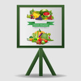 Alimento sano, frutta e verdure, Fotografia Stock
