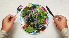 Alimento sano per il vegetariano fotografia stock libera da diritti