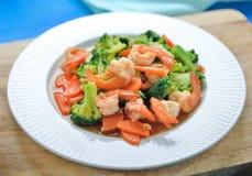 Alimento sano tailandese Immagine Stock