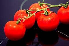 Alimento sano: tomates rojos frescos Foto de archivo libre de regalías