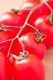Alimento sano: tomates rojos frescos Fotografía de archivo libre de regalías