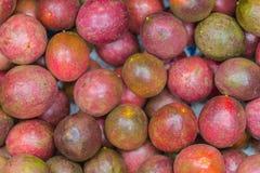 Alimento sano tropicale del succo del frutto della passione Immagini Stock