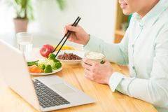 Alimento saudável Fotografia de Stock