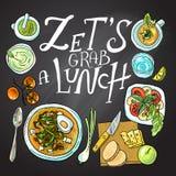 Alimento saudável ilustração stock