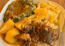 Alimento saudável cozinhado Fotos de Stock