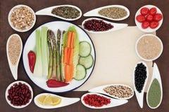 Alimento saudável da perda de peso Fotografia de Stock