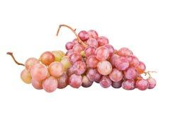 Alimento saudável das uvas é isolado em um fundo branco Fotos de Stock