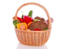 Alimento saudável diário Fotografia de Stock Royalty Free