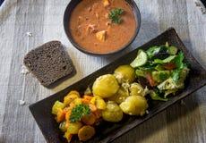 Alimento saudável do alimento do vegetariano fotografia de stock