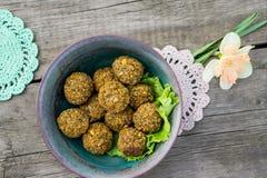Alimento saudável do alimento do vegetariano delicioso imagens de stock