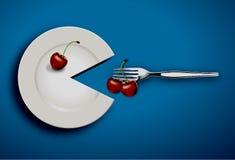 Alimento saudável do coração Imagem de Stock Royalty Free