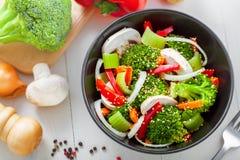 Alimento saudável do vegetariano Fotografia de Stock