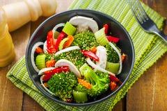 Alimento saudável do vegetariano Foto de Stock Royalty Free