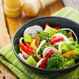 Alimento saudável do vegetariano Fotografia de Stock Royalty Free