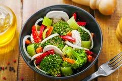 Alimento saudável do vegetariano Imagens de Stock
