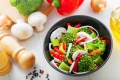 Alimento saudável do vegetariano Imagens de Stock Royalty Free