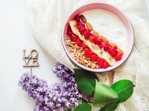 Alimento saudável e delicioso Fotos de Stock Royalty Free