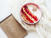 Alimento saudável e delicioso Imagens de Stock