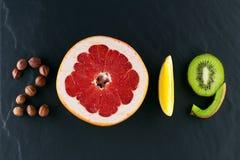 Alimento saudável e dieta dos feriados As decisões de ano novo 2019 aproximadamente