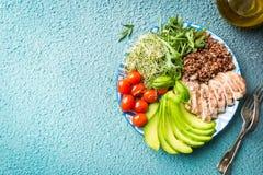 Alimento saudável equilibrado imagens de stock