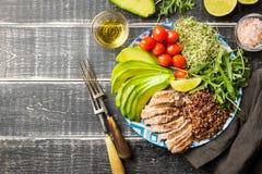 Alimento saudável equilibrado imagens de stock royalty free