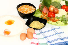 Alimento saudável fresco Fotografia de Stock