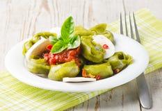 Alimento saudável italiano imagem de stock royalty free