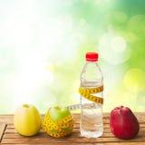 Alimento saudável na tabela Foto de Stock