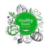 Alimento saudável vegetariano Imagem de Stock