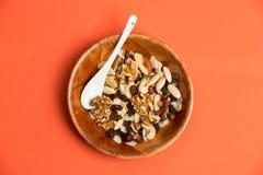 Alimento saudável, vista da parte superior fotos de stock royalty free
