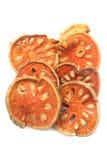 Alimento secco della frutta del bael Fotografia Stock Libera da Diritti