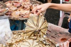 Alimento secco pesce Fotografia Stock Libera da Diritti