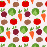 Alimento sem emenda dos legumes frescos da textura sobre o fundo claro Foto de Stock