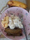 alimento servido nas Filipinas imagem de stock royalty free