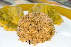 alimento shredded Colômbia do caranguejo Fotografia de Stock
