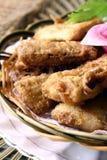 Alimento squisito della Cina--coda fritta dei capelli Fotografie Stock Libere da Diritti