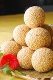 Alimento squisito della Cina--inserimento del fagiolo dell'involucro in glutinoso Immagine Stock