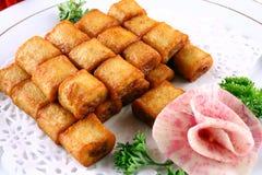 Alimento squisito della Cina--merluzzo fritto Fotografia Stock