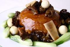 Alimento squisito della Cina-- riso fritto dell'interlinea di mare Immagini Stock