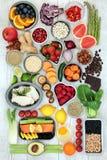 Alimento super da dieta Fotos de Stock Royalty Free