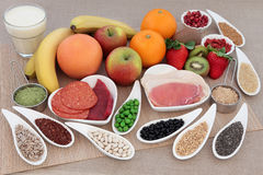 Alimento super do body building Foto de Stock Royalty Free