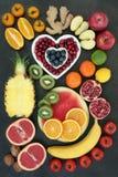 Alimento super para comer saudável Fotografia de Stock