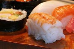 Alimento: sushi Foto de archivo