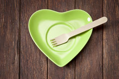 Alimento sustentável verde Foto de Stock Royalty Free