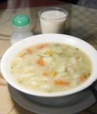 Alimento típico Colombia Suramérica de la sopa de las pastas Imagen de archivo libre de regalías