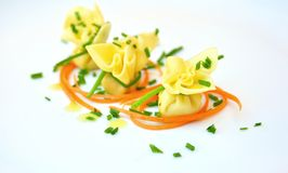 Alimento típico do italiano: massa fotos de stock