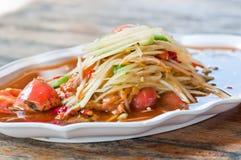 Alimento tailandés. Imagen de archivo libre de regalías